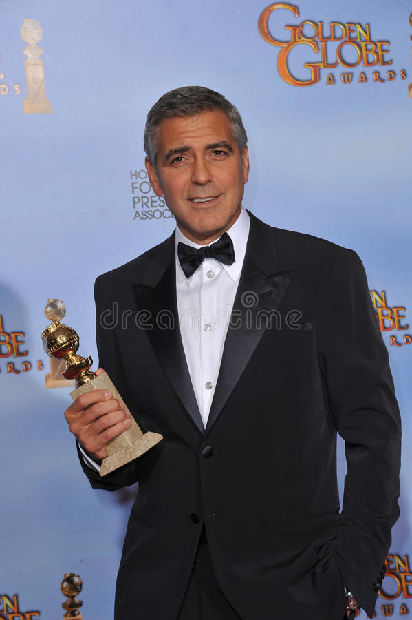 George Clooney photo stock