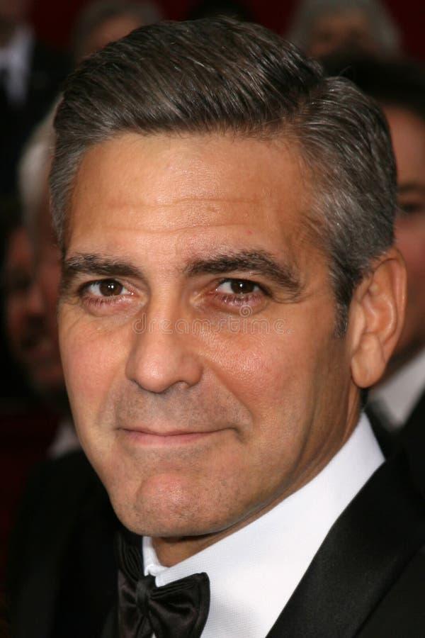 George Clooney fotografia stock libera da diritti