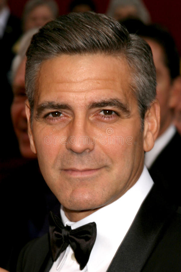 George Clooney imagens de stock royalty free