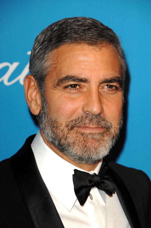 Download George Clooney redaktionelles stockbild. Bild von jerry - 26356069