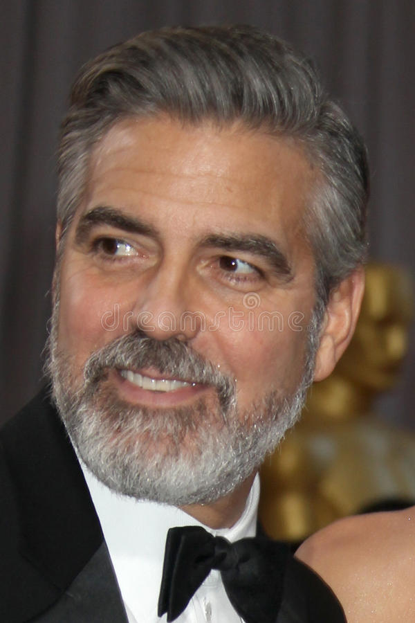 George Clooney stock foto