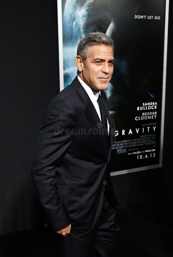 George Clooney royalty-vrije stock afbeeldingen