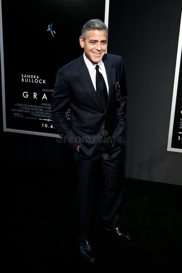 George Clooney imagens de stock