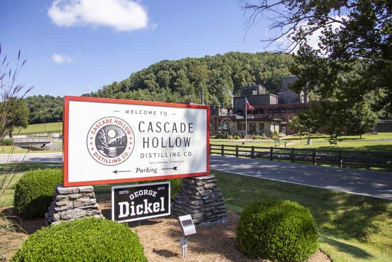 George Dickel Cascade Hollow photo stock