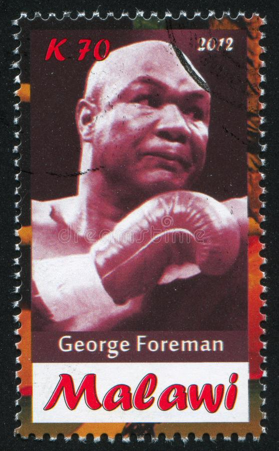 George Foreman photo libre de droits