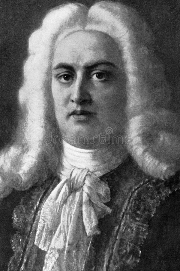 George Frideric Handel photo libre de droits