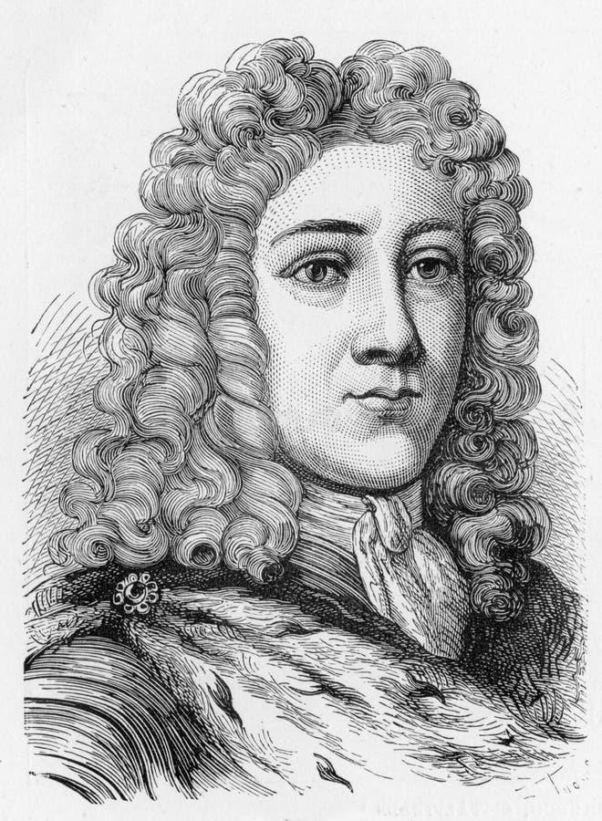 George II de Inglaterra stock de ilustración