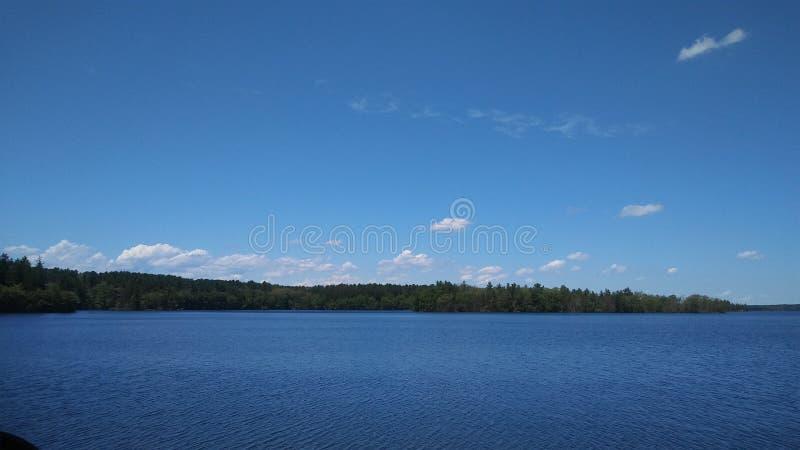 george jeziora fotografia stock