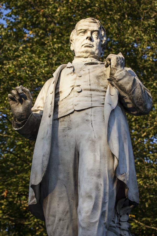 George Leeman Statue en York imágenes de archivo libres de regalías