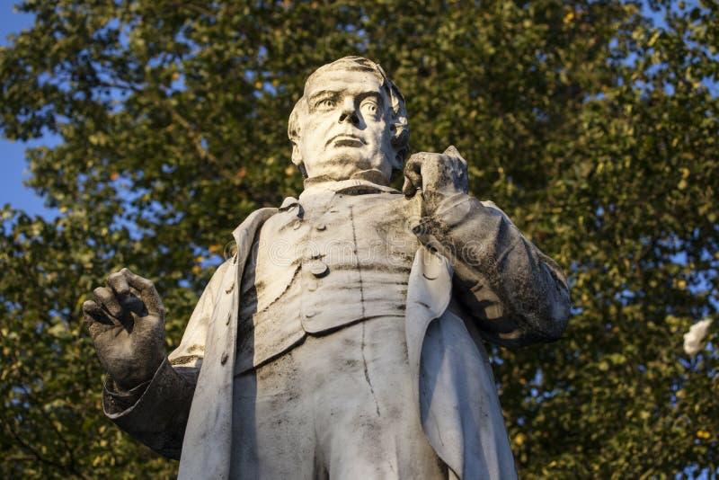 George Leeman Statue en York imagen de archivo