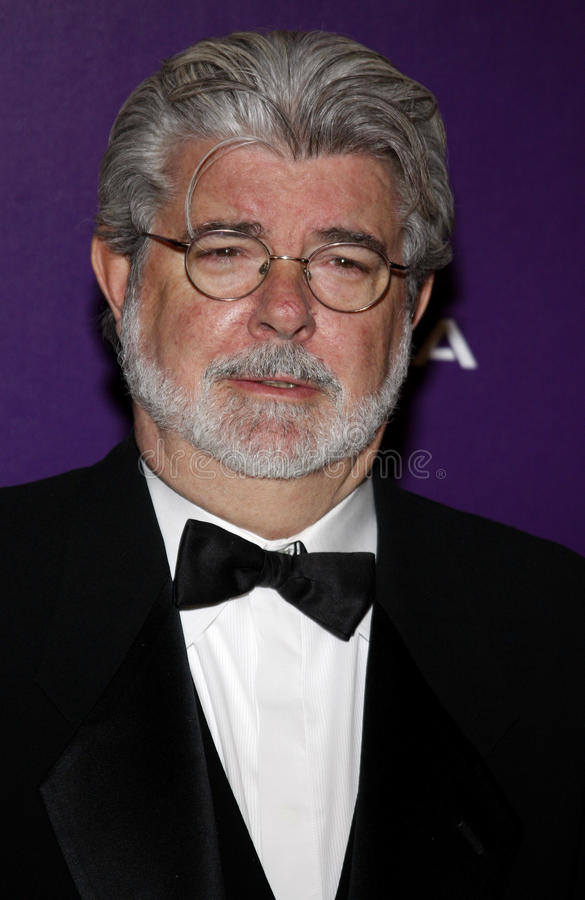 George Lucas. At the 23rd Annual American Cinematheque Award Ceremony Honoring Samuel L. Jackson held at the Beverly Hilton Hotel in Beverly Hills, California royalty free stock image