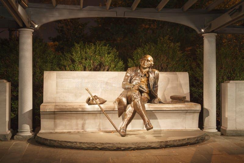 George Mason το αναμνηστικό Washington DC στοκ εικόνες