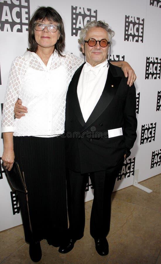 George Miller i Margaret Sixel zdjęcie royalty free