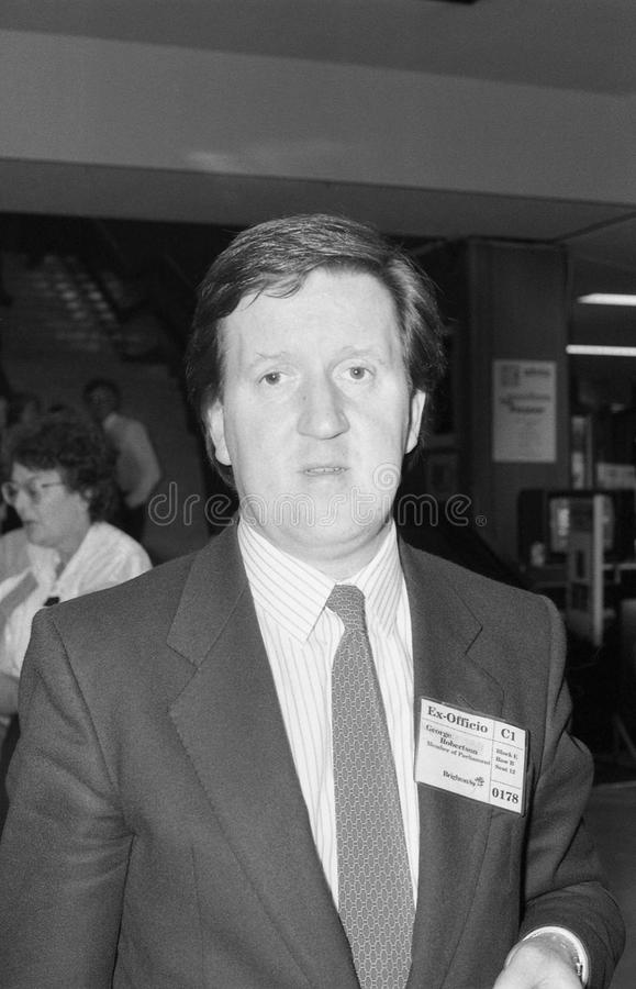 George Robertson immagini stock