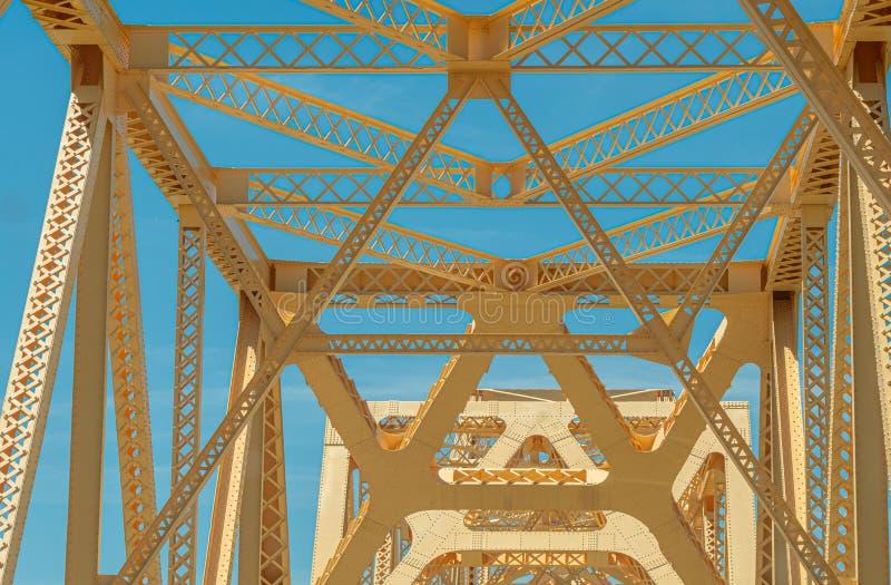 George Rogers Clark Memorial Bridge - LOUISVILLE LES ETATS-UNIS - 14 JUIN 2019 photo libre de droits