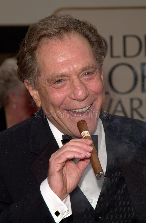 George Segal. 23JAN2000: Actor GEORGE SEGAL at the Golden Globe Awards in Beverly Hills. Paul Smith / Featureflash royalty free stock photography