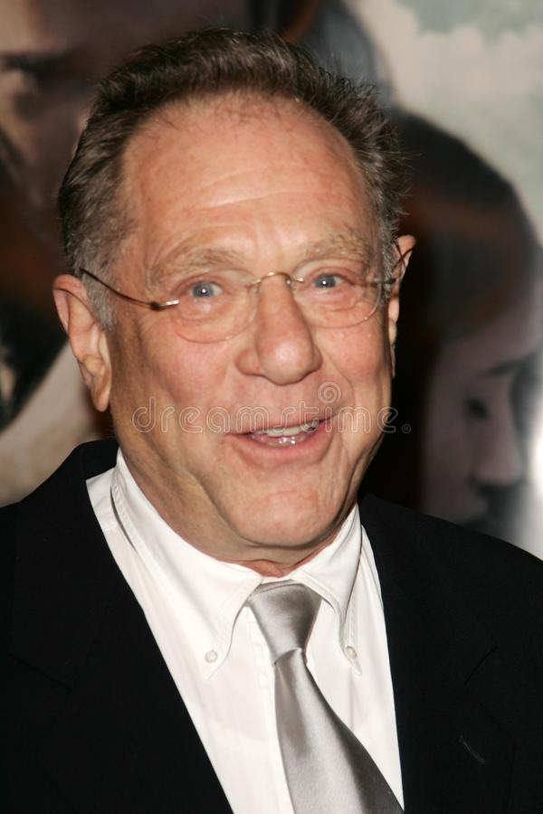 George Segal. At the premiere of 'The New World'. Academy of Motion Picture Arts and Sciences, Beverly Hills, CA 12-15-05 royalty free stock image