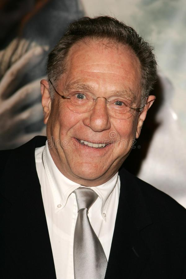 George Segal. At the premiere of 'The New World'. Academy of Motion Picture Arts and Sciences, Beverly Hills, CA 12-15-05 royalty free stock images