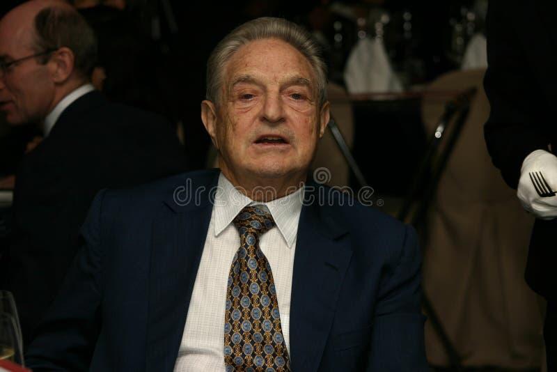 George Soros lizenzfreies stockfoto
