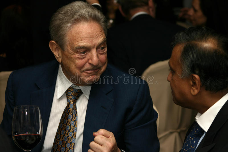 George Soros fotos de archivo