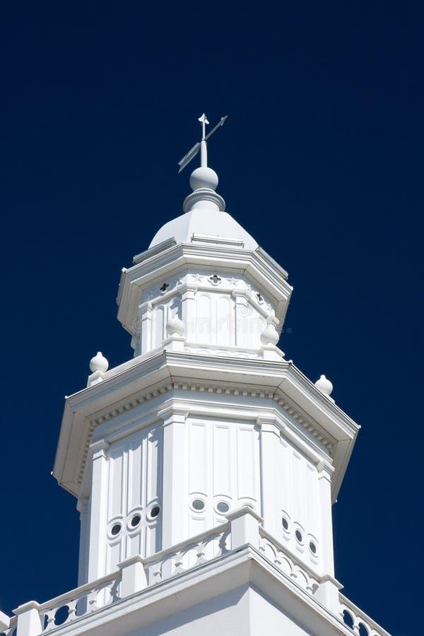 george st steeple świątynia Utah obraz royalty free