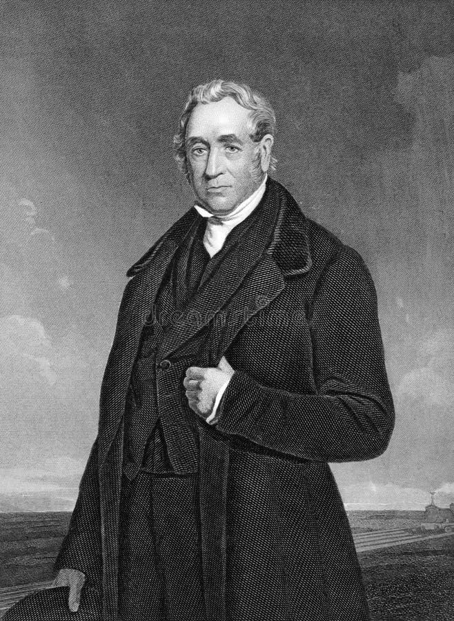 George Stephenson imagens de stock royalty free
