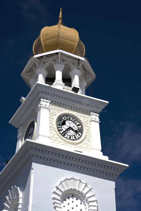 Download George Town Heritage Clock Tower Stock Photo - Image: 7398964