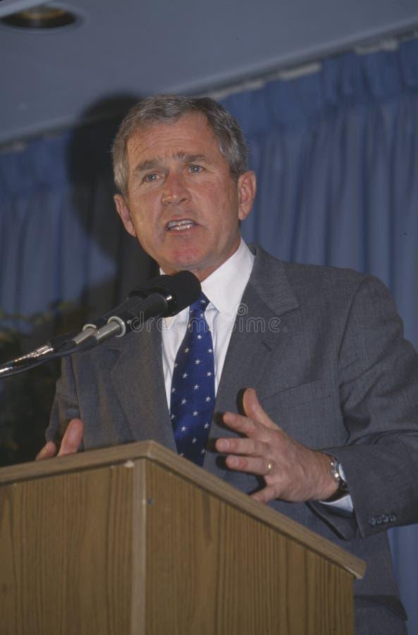 George W. Bush fotografering för bildbyråer