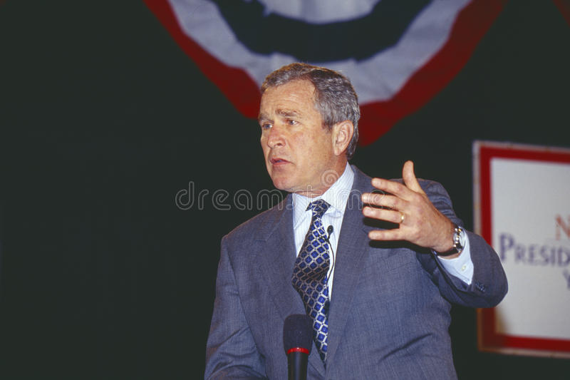 George W. Bush arkivfoto