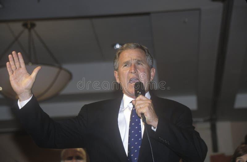 George W. Bush royaltyfri bild