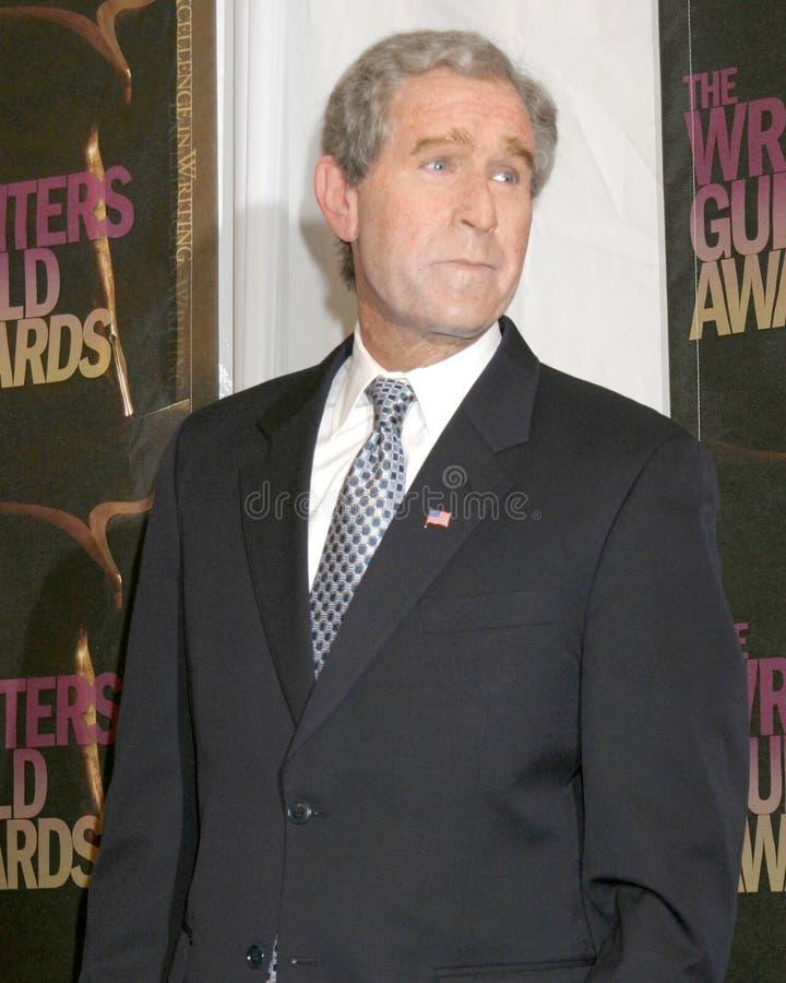 George W. Bush Steve Bridges, George W Bush royaltyfria foton