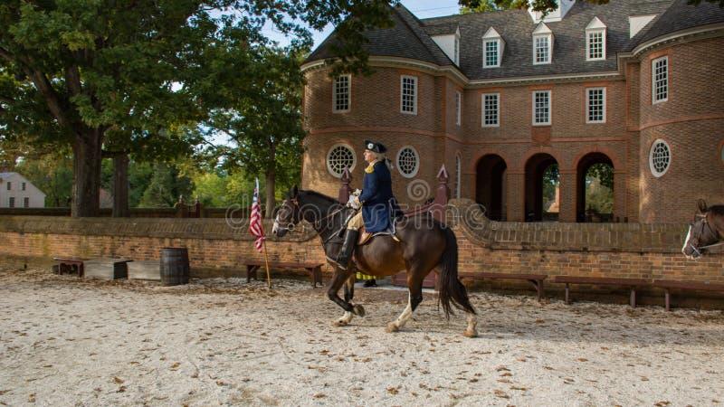 George Washington à Williamsburg historique Va photos libres de droits