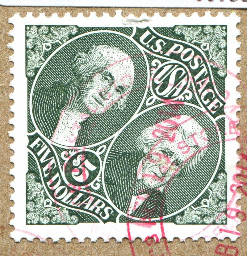 George Washington και Andrew Τζάκσον στοκ φωτογραφία