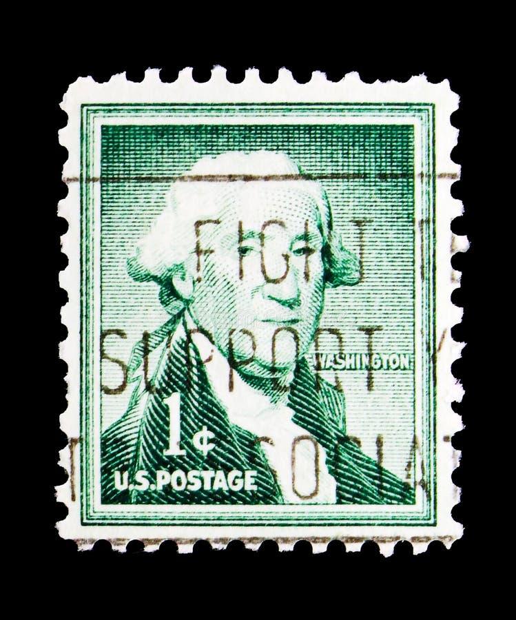 George Washington (1732-1799), πρώτος Πρόεδρος του U S Α , Λι στοκ εικόνες με δικαίωμα ελεύθερης χρήσης