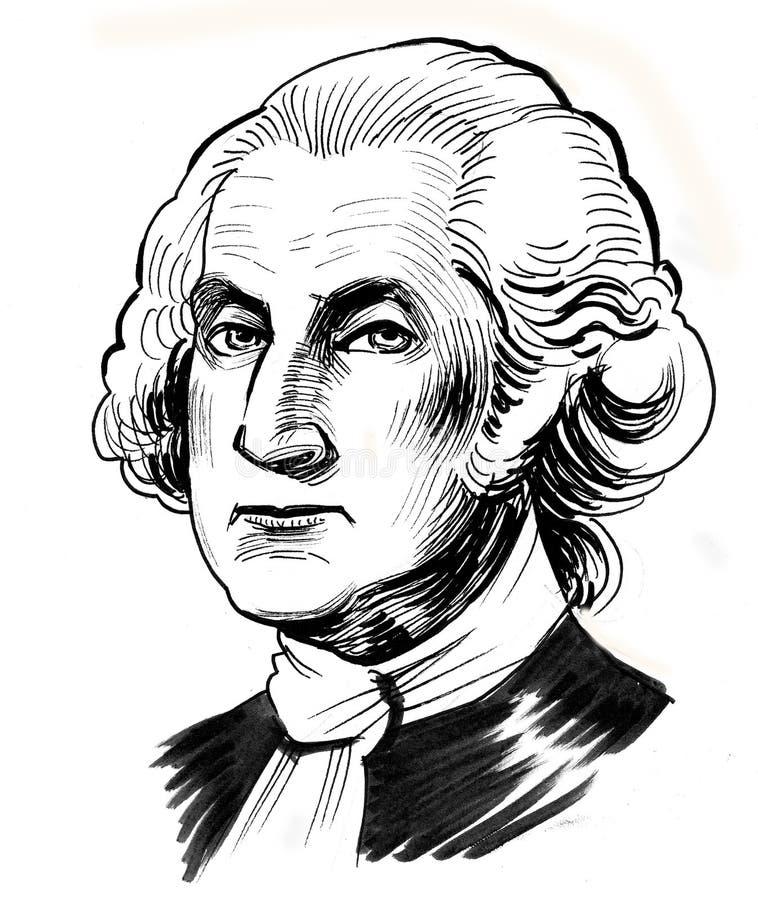 George Washington ilustración del vector