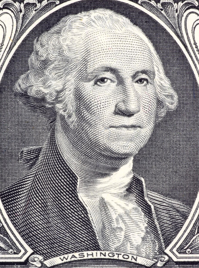 George Washington lizenzfreie stockfotos