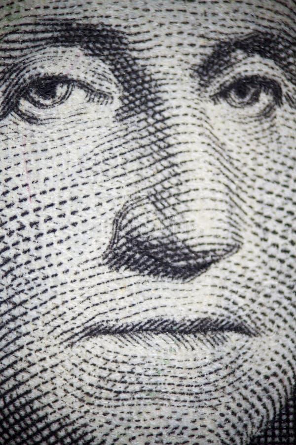 George Washington image stock