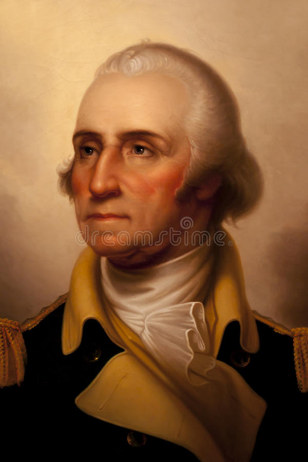George Washington stockbild