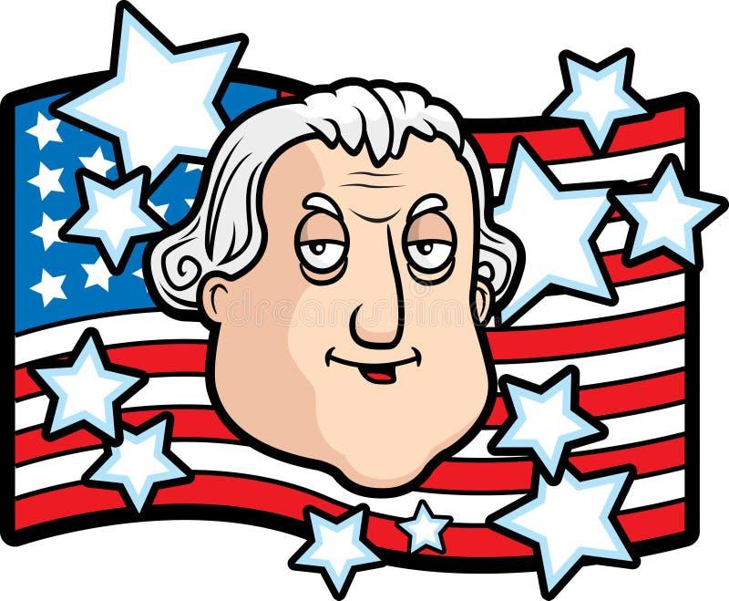 George Washington stock de ilustración
