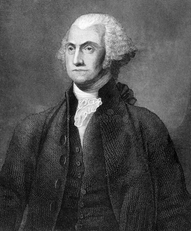 George Washington royaltyfri foto