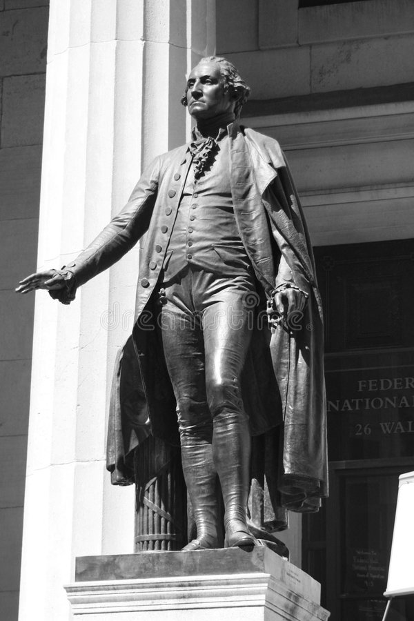 George Washington royaltyfri foto