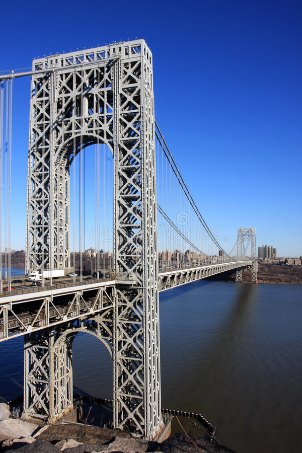 George Washington Bridge stock photos