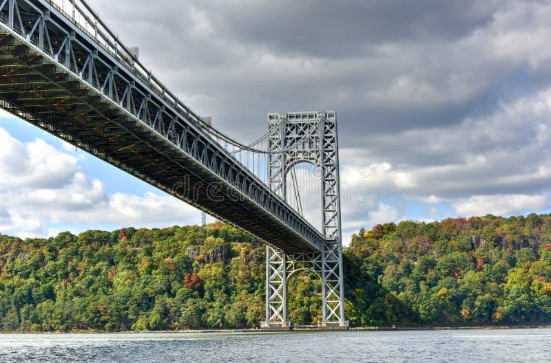 George Washington Bridge - NY/NJ photos libres de droits