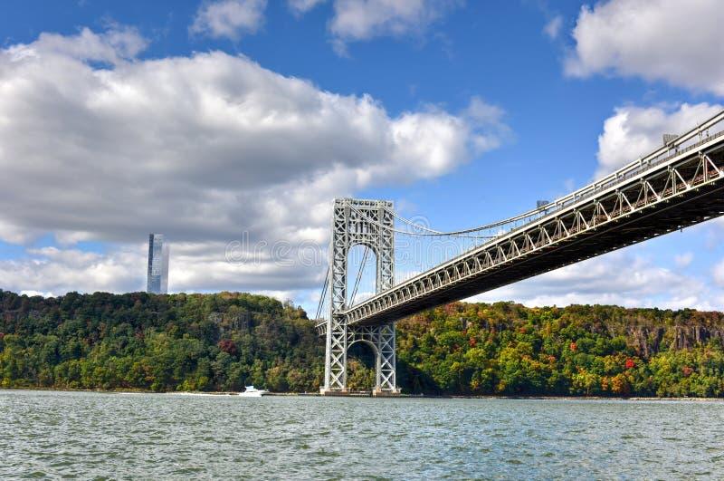 George Washington Bridge - NY/NJ photo libre de droits