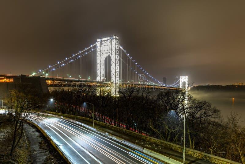 George Washington Bridge - NYC photos libres de droits