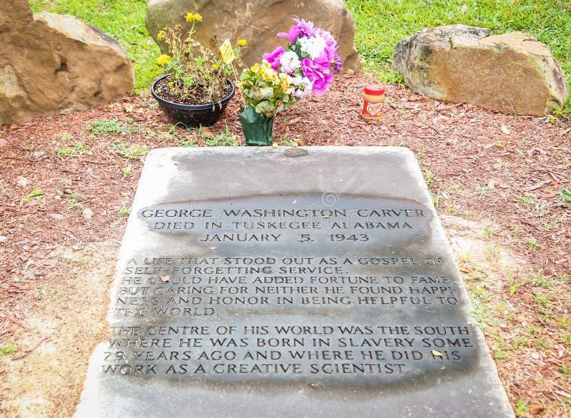 George Washington Carver Grave Site imágenes de archivo libres de regalías