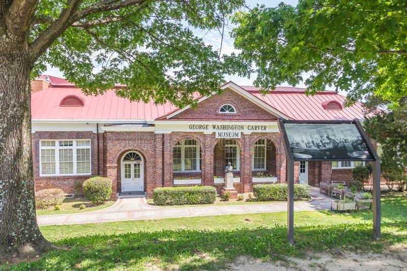 George Washington Carver Museum fotografía de archivo