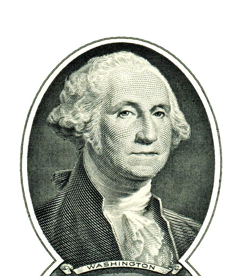George Washington En Un Dólar Imagen de archivo - Imagen de batería ...