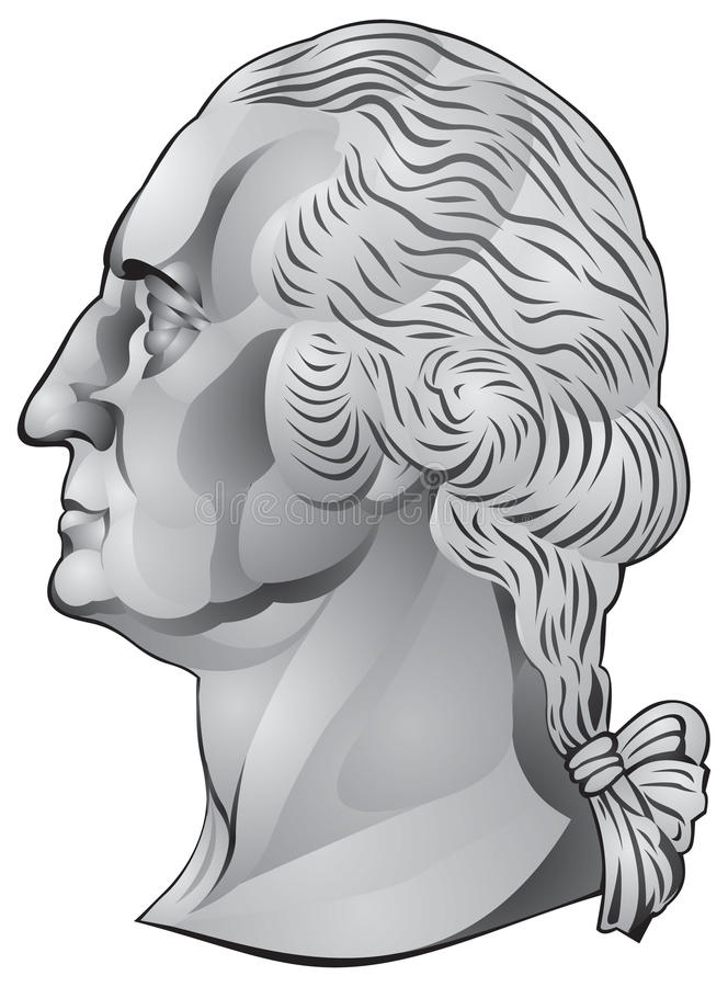 George Washington, Erster US-Präsident Stockbilder
