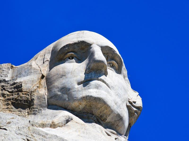 George Washington Isolated Mount Rushmore stock foto